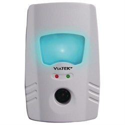 Viatek Pr60c Ultrasonic Pest Repeller With Electromagnetic Nightlight