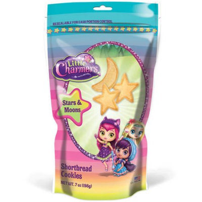 Little Charmers Stars and Moons Shortbread Cookies, 7 oz