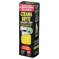 Cerama Bryte 29106 Ceramic Cooktop Cleaning Pads- 10 Pk