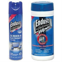 Endust 259000 Anti-Static Pop-Up Wipes 096000 Multi-Surface Electronics Cleaner