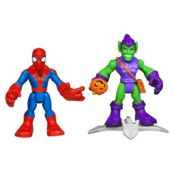Spiderman Marvel Spider-Man Adventures Playskool Heroes Spider-Man and Green