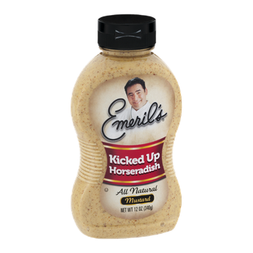 Emeril's Kicked Up Horseradish All Natural Mustard