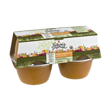 Nature's Promise Organics Organic Applesauce with Apricot Puree - 4 CT