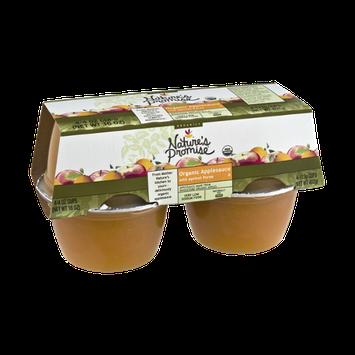 Nature's Promise Organics Organic Applesauce with Apricot Puree - 4 CT