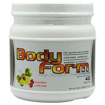 Better Body Sports BODY FORM CHERRY LIMEADE 40/SR - 0.77 LBS