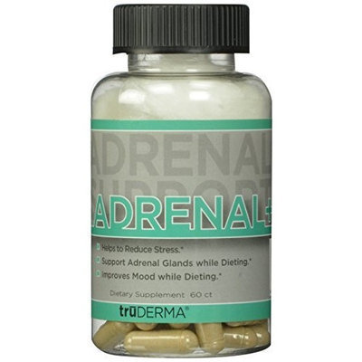 TruDerma Adrenal Plus Mineral Supplements, 3.2 Ounce