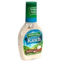 Hidden Valley Original Ranch Salad Dressing Bacon Ranch, 16 Fluid Ounces