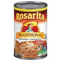 Rosarita Refried Beans, Traditional, 16 oz (1 lb) 454 g - BEATRICE FOODS/GROC SPEC DIV
