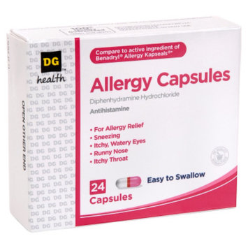 DG Health Allergy Capsules - 24 ct