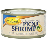 Roland Picnic Shrimp, 7-Ounce Cans (Pack of 6)