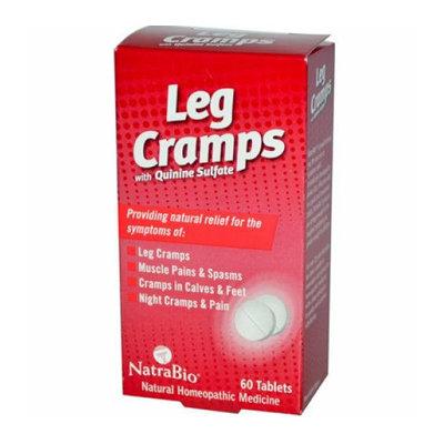 NatraBio Leg Cramps with Quinine Sulfate 60 Tablets
