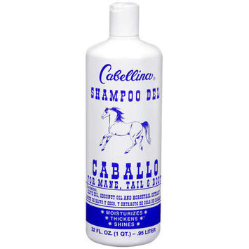 Cabellina For Mane, Tail & Body Shampoo, 32 oz