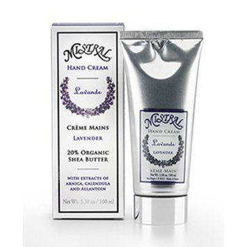 Mistral Hand Cream Box, Lavender, 3.38 Fluid Ounce