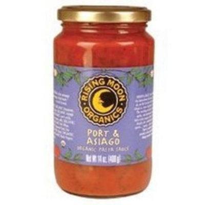 Rising Moon Organic Pasta Sauce Port And Asiago -- 14 fl oz