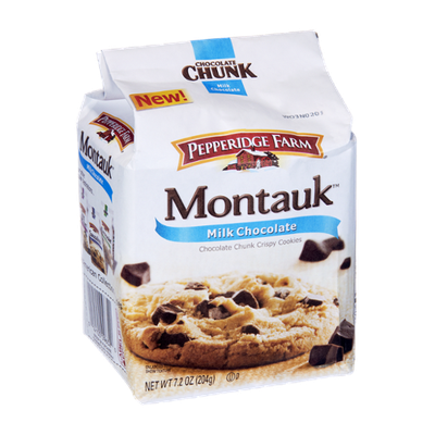 Pepperidge Farm Montauk Milk Chocolate Chocolate Chunk Crispy Cookies
