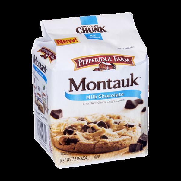 Pepperidge Farm Montauk Milk Chocolate Chocolate Chunk Crispy Cookies