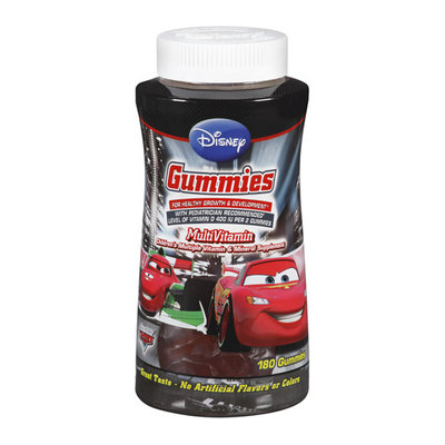 Disney Pixar Cars Children's Multivitamin Gummies