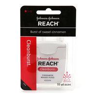Reach Clean Burst Dental Floss