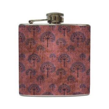 Lily - Liquid Courage Flasks - 6 oz. Stainless Steel Flask