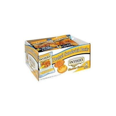Snyders Snyder's Cheddar Cheese Pretzel Sandwich (Pack of 8) 2.12 oz.