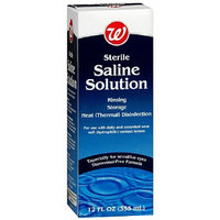 Walgreens Sterile Saline Solution for Contact Lenses