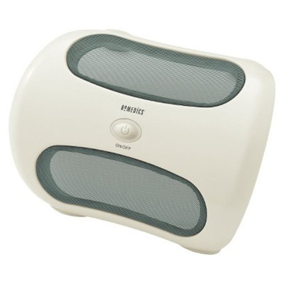 HoMedics green/white Foot & Calf Massager - 12.5x4.5x9.5