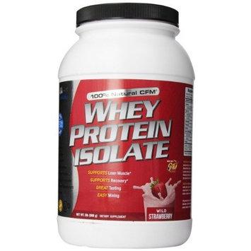 Integrated Supplements CFM Whey Protein Isolate Diet Supplement, Wild Straw, 2 Pound