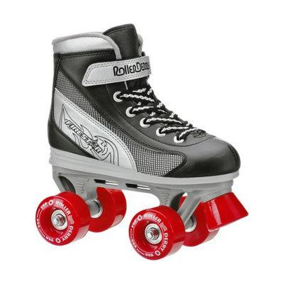 Roller Derby Boy's  Firestar Quad Skate - Black/ Silver/ Red - Size 4