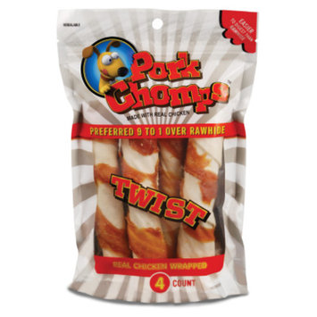 Pork Chomps Twist Dog Treat