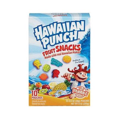 Hawaiian Punch Fruit Snacks Pouches