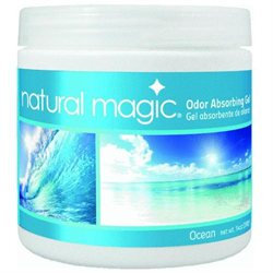 Osmegen 14 Ounce Natural Magic Ocean Scent Odor Absorbing Gel 9700 by Homax