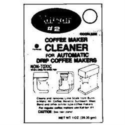 Kaf-tan Kt-2 Coffee Maker Cleaner. Coffee Maker Cleaners - Coffeemaker