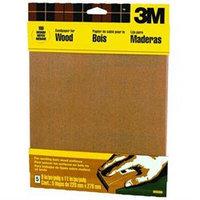 3m 9in. X 11in. Medium Bare Woods Sandpaper 9037NA