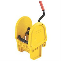 Rubbermaid Commercial RCP757588YEL WaveBrake Down-Press Wringer, Yellow