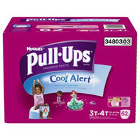 Pull-Ups Training Pants with Cool Alert for Girls 3T-4T