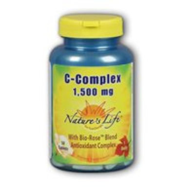 Vitamin C 1500mg - Vegetarian Nature's Life 100 Sustained Release Tablet