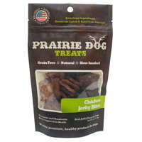 Prairie Dog Chicken Jerky Bites Dog Treats, 4 oz.