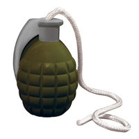 Vip Products Tuffy Rugged Rubber Grenade Dog Toy