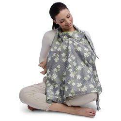 Boppy Nursing Cover with SlideLine Lupine - BOPPY COMPANY
