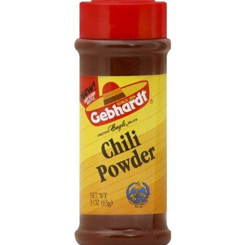 Gebhardt Chili Powder 3.0 OZ (Pack of 12)
