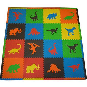 Tadpoles Tadpole Mat 16 Piece - Dinosaurs