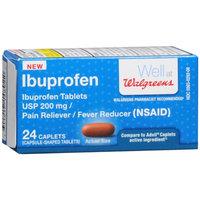 Walgreens Ibuprofen Pain Reliever/Fever Reducer Caplets, 24 ea