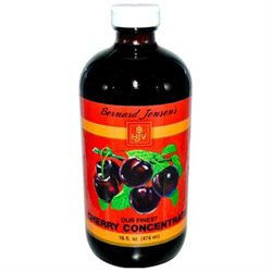 Bernard Jensen Products Black Cherry Concentrate - 16 Fluid Ounces Liquid - Other Green / Super Foods