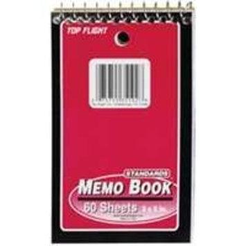 Top Flight Memo Book 60ct. (Pack of 12)