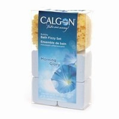 Calgon Bubbly Bath Fizzy Set, Morning Glory 7.7 oz (220 ml)