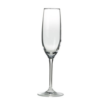 The Wine Enthusiast Fusion Stemware Champagne Flutes Set of 4
