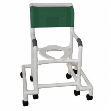 MJM International 118-3TW-SAFE Standard Outrigger Shower chair 18 in.