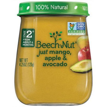 Generic Beech-Nut Stage 2 Just Mango, Apple & Avocado Baby Food, 4.25 oz