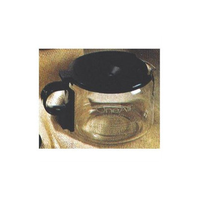 Medelco 4-Cup Glass Universal Replacement Carafe - Black