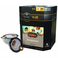 Keurig Vue Pack Celestial Seasonings Sleepytime Herbal Tea, 16ct